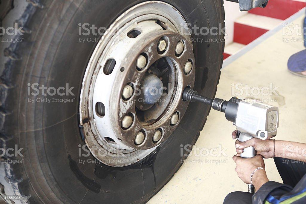 Impact Wrench stock photo