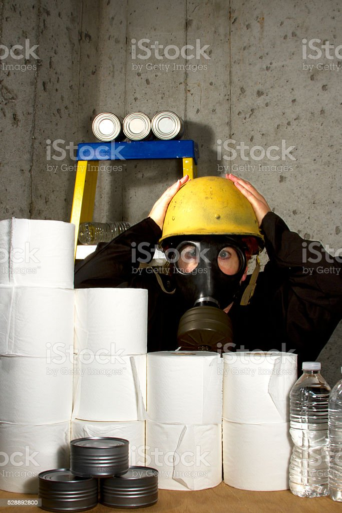 Impending Doom stock photo