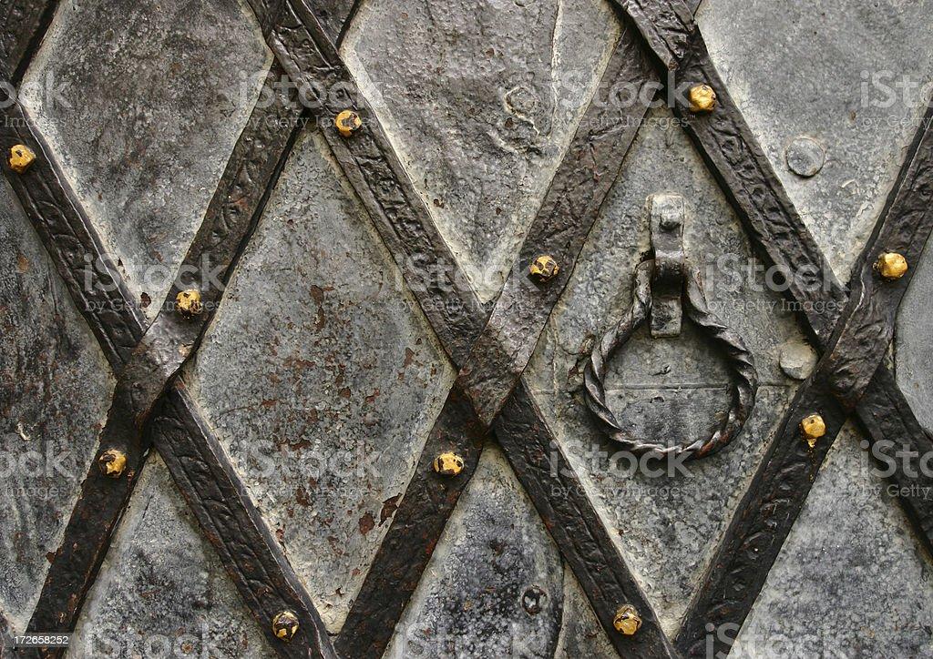 Impenetrable gate royalty-free stock photo