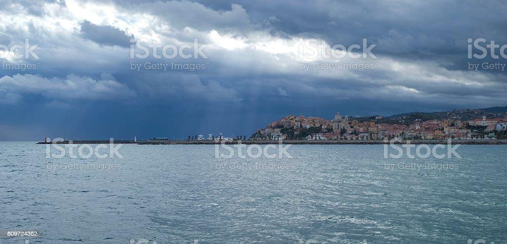 Imperia. Italian Riviera stock photo