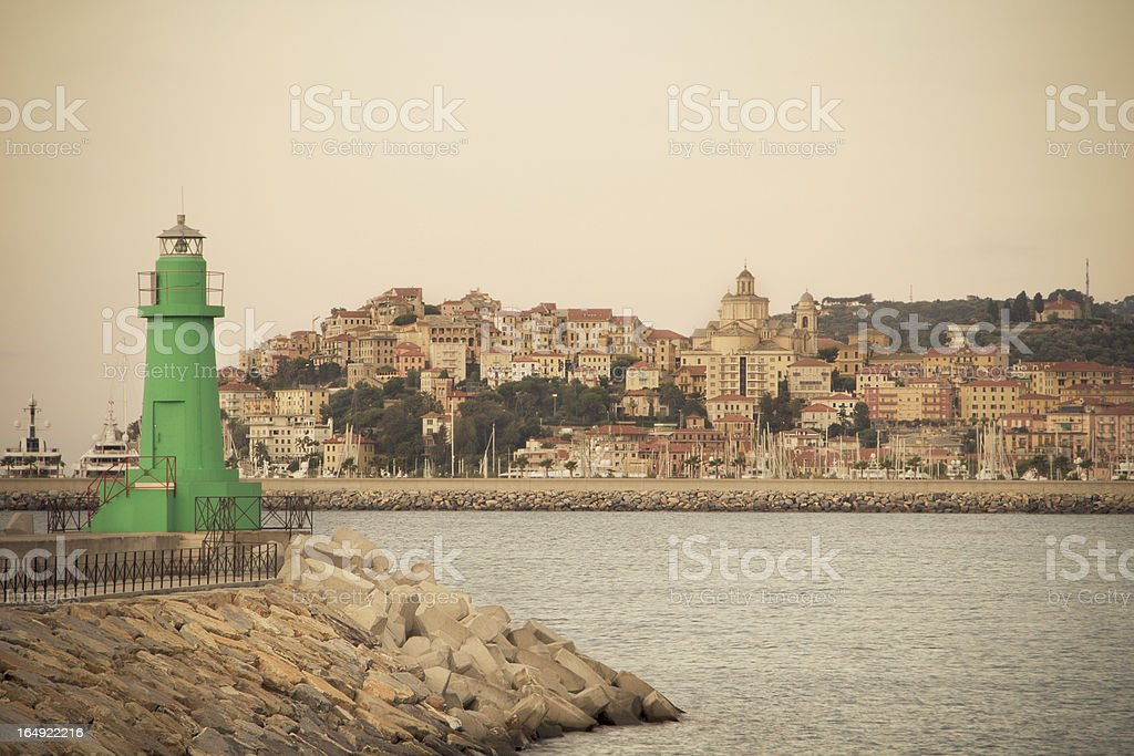 Imperia, Italy stock photo