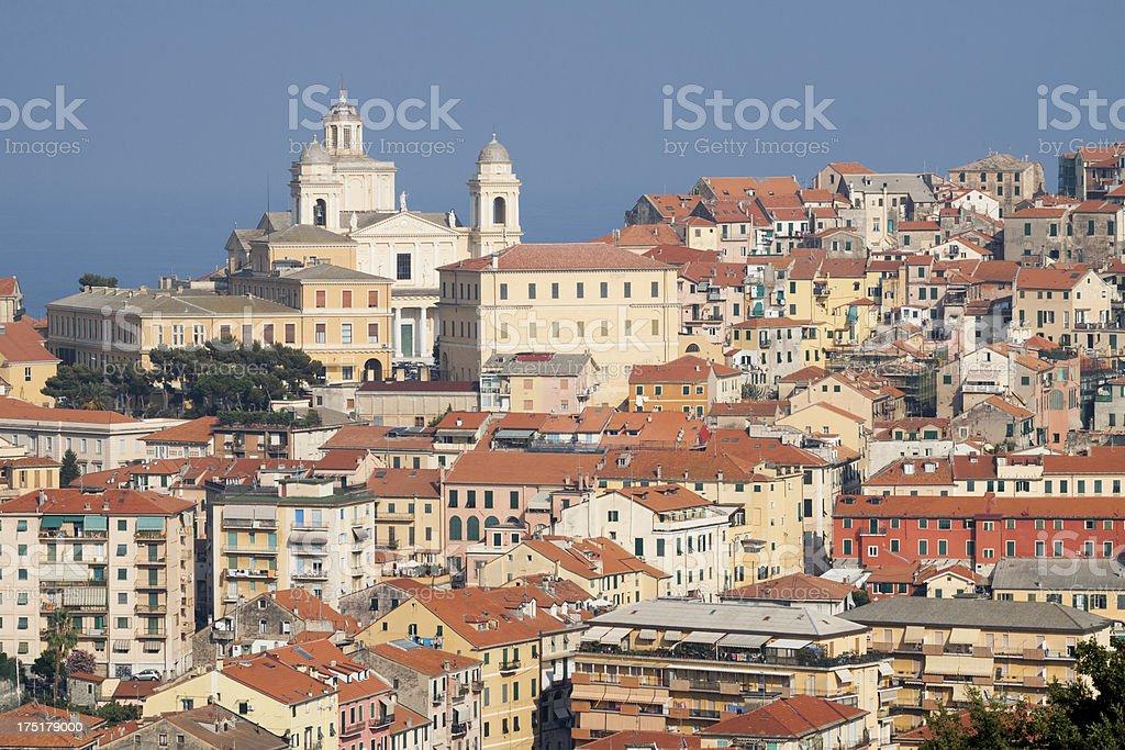 Imperia - Liguria, Italy stock photo