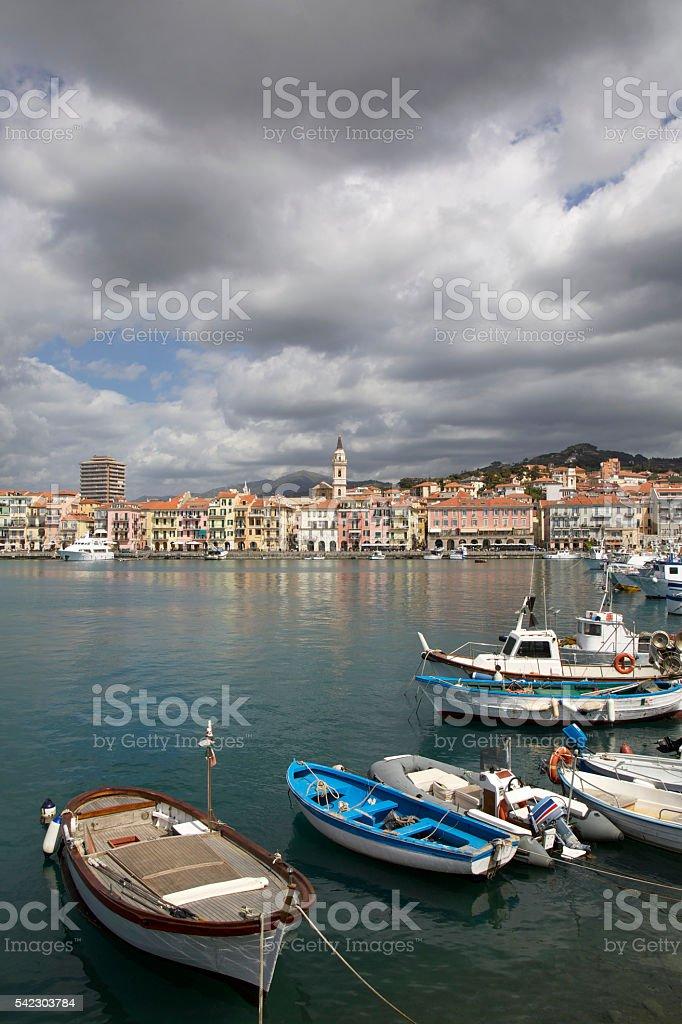 Imperia Oneglia, Liguria regoin, Italy stock photo