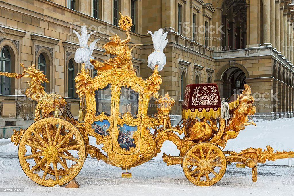 Imperial carriage stock photo