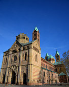 Imperial cathedral in speyer germany