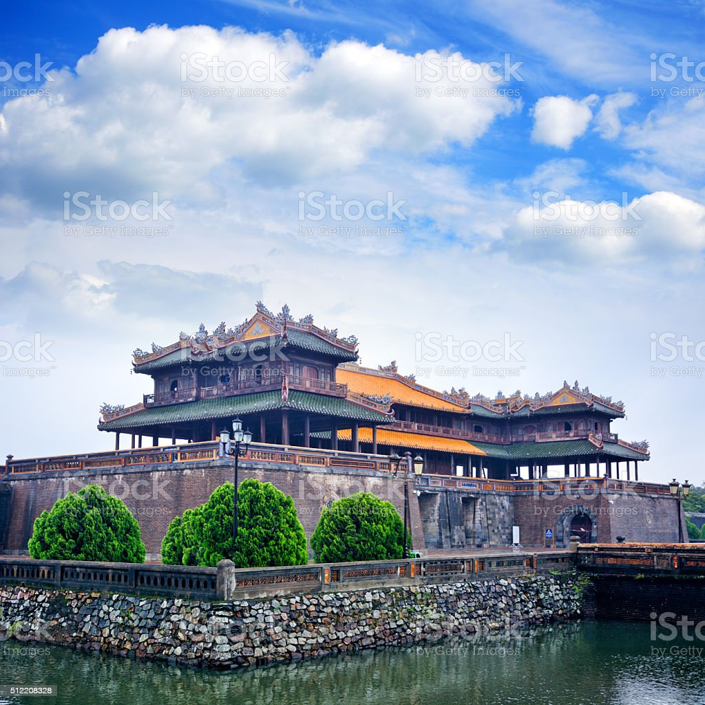 Imperial City, Vietnam stock photo