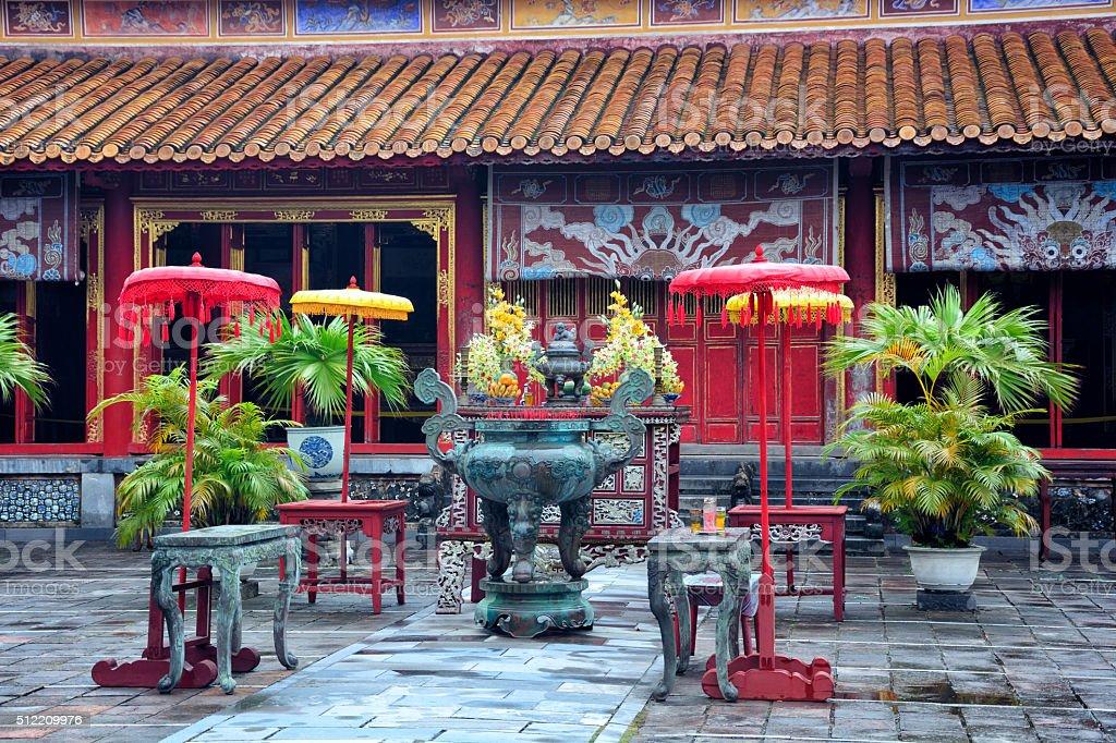 Imperial City, Vietnam stock photo