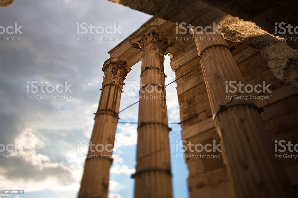 Colonne Imperiali royalty-free stock photo