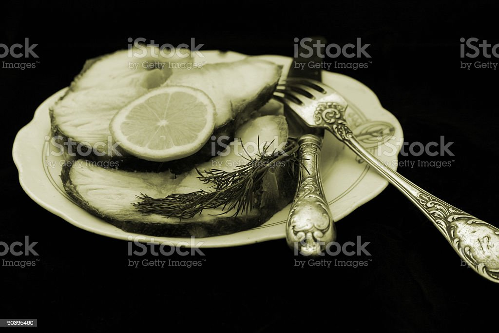 Imperial fish royalty-free stock photo