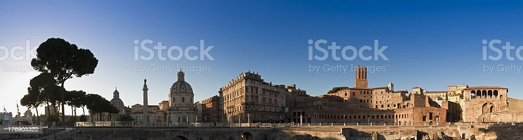 Fori Imperiali, Campidoglio, Rome royalty-free stock photo