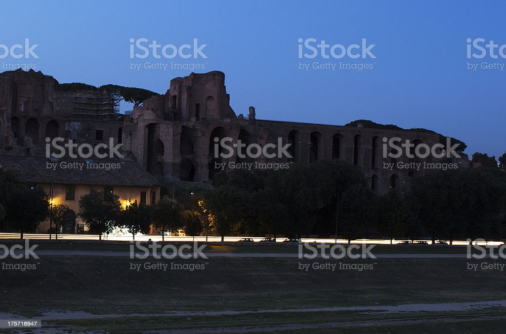 Fori Imperiali royalty-free stock photo
