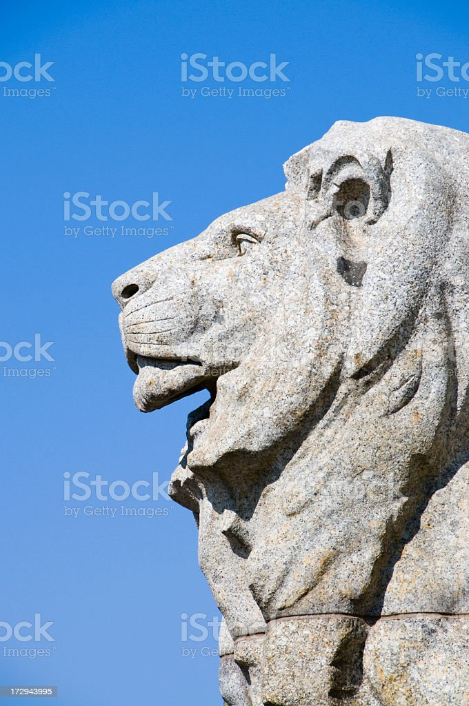 Imperial Lion royalty-free stock photo