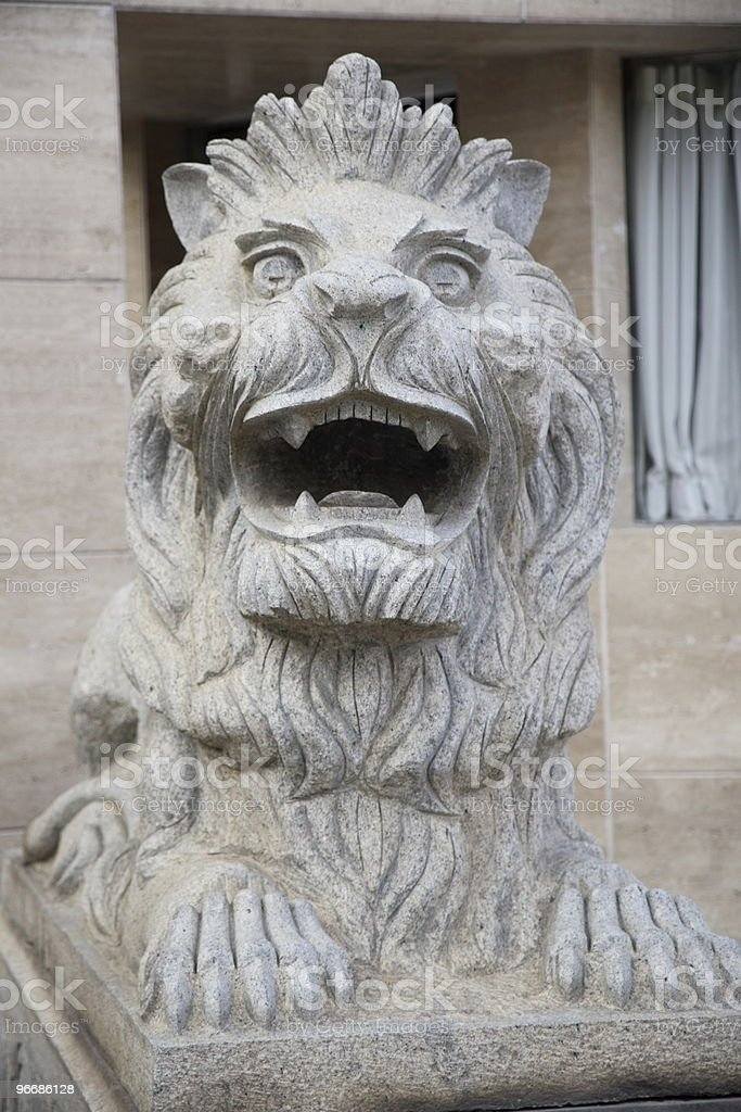 Imperial Lion (series) royalty-free stock photo