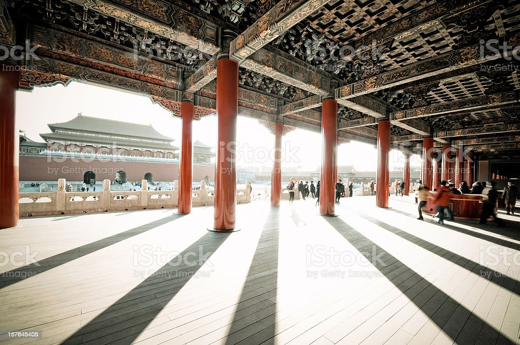 Imperial Palace (Forbidden City), Beijing stock photo