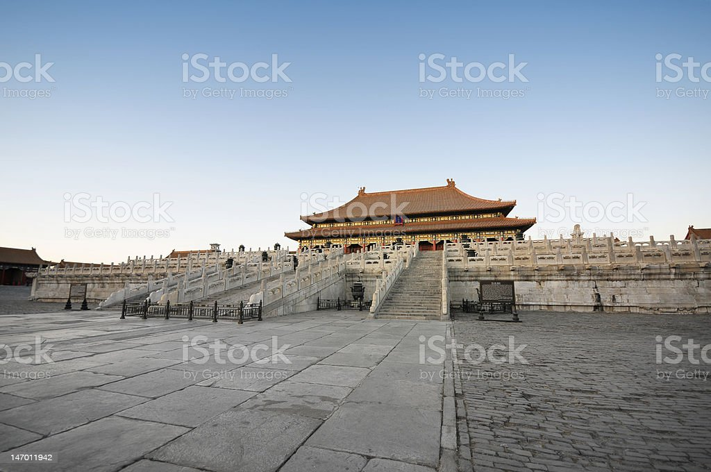 Imperial Palace royalty-free stock photo