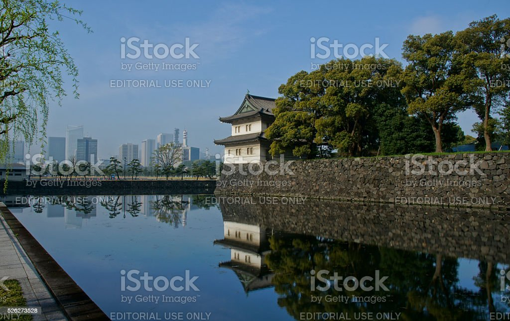 Imperial Palace Tokyo Japan stock photo