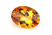 Imperial Topaz or Citrine