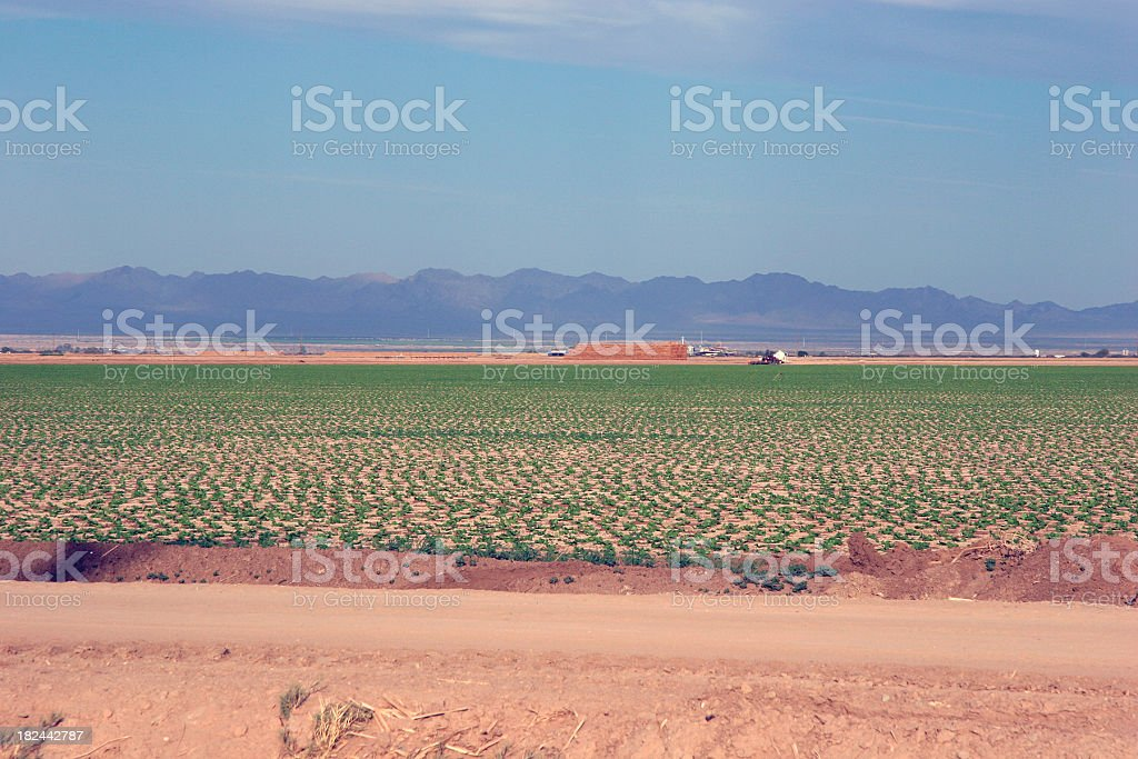 Imperial Valley California Landscape stock photo
