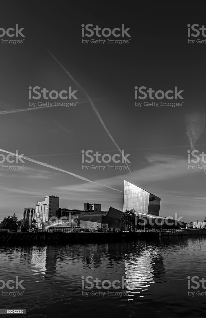Imperial War Museum Manchester stock photo