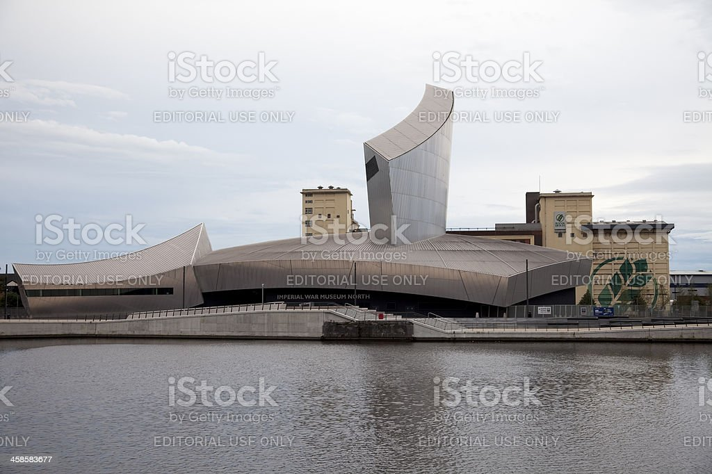 Imperial War Museum North stock photo