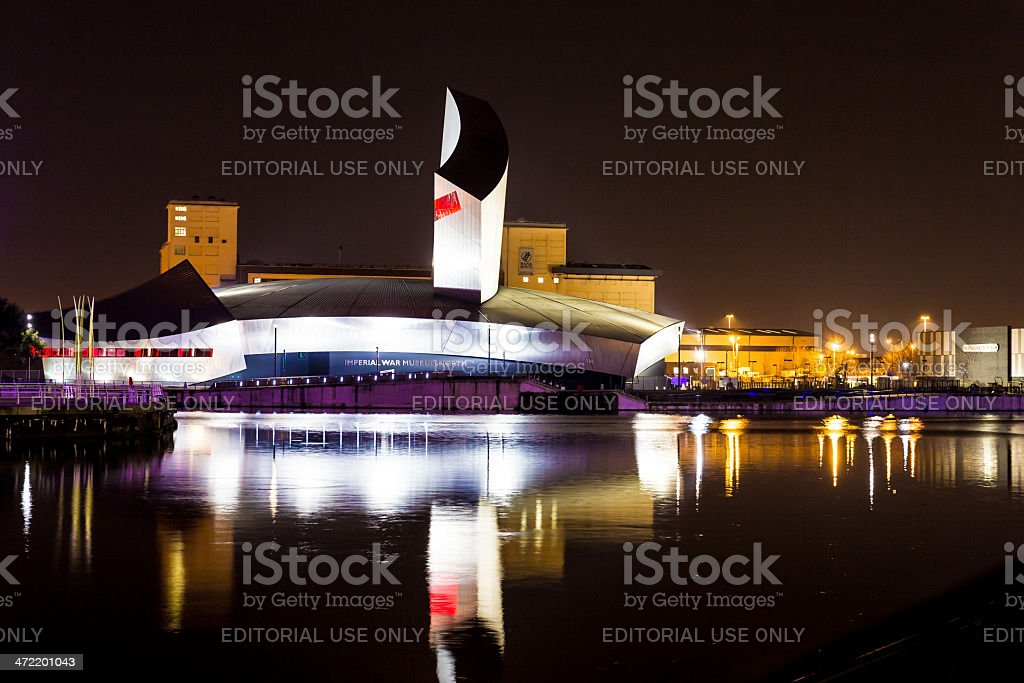 Imperial War Museum North - Salford, Manchester stock photo