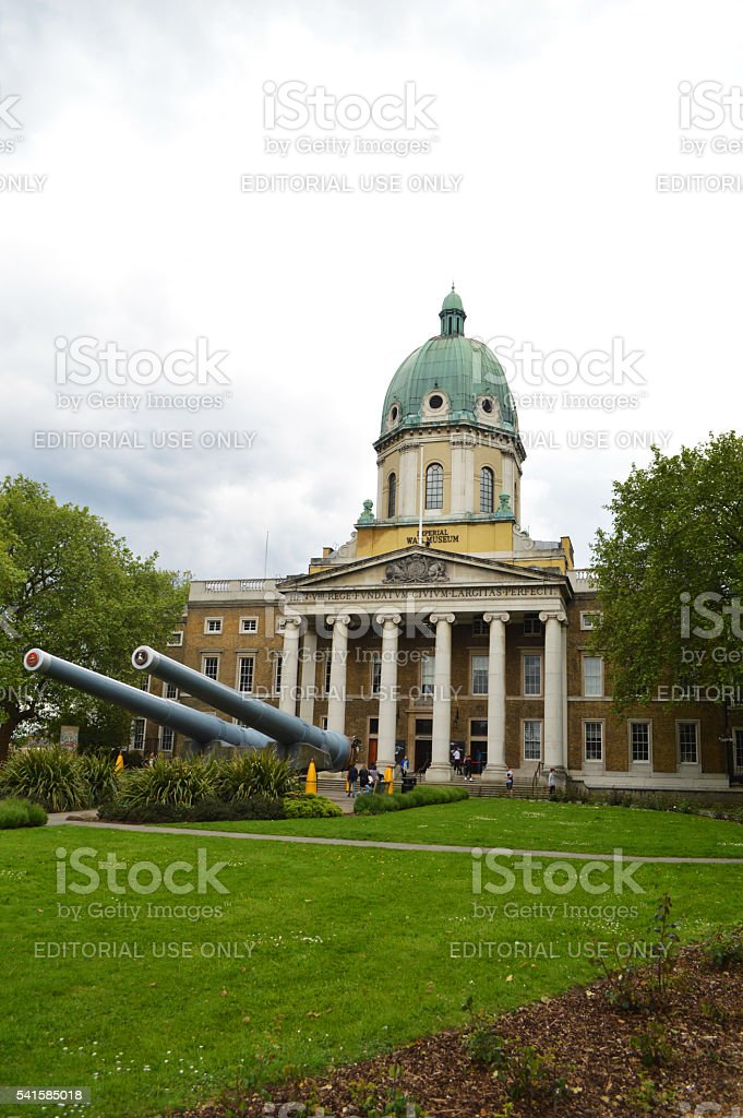 imperial war museum of london stock photo