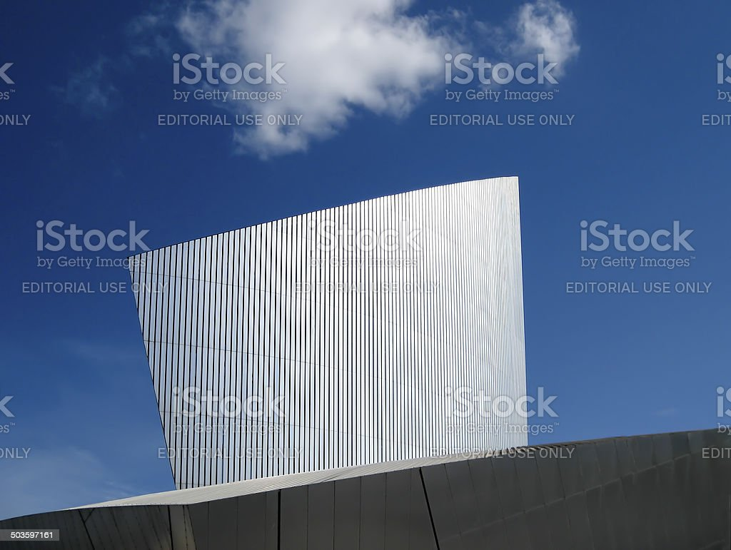 Imperial War Museum Salford Quays Manchester, stock photo