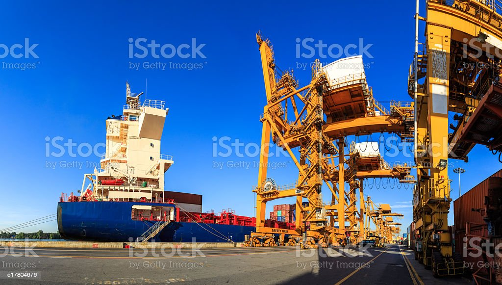 Import And Export stock photo