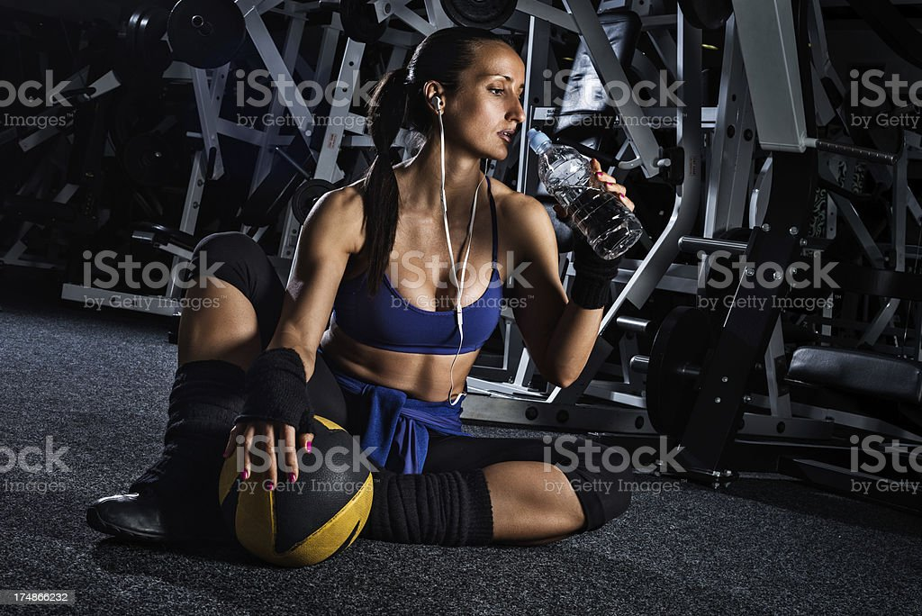 Importance of hydration royalty-free stock photo