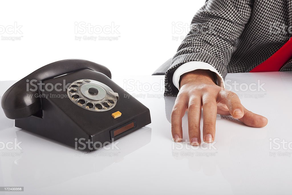 Important call. royalty-free stock photo