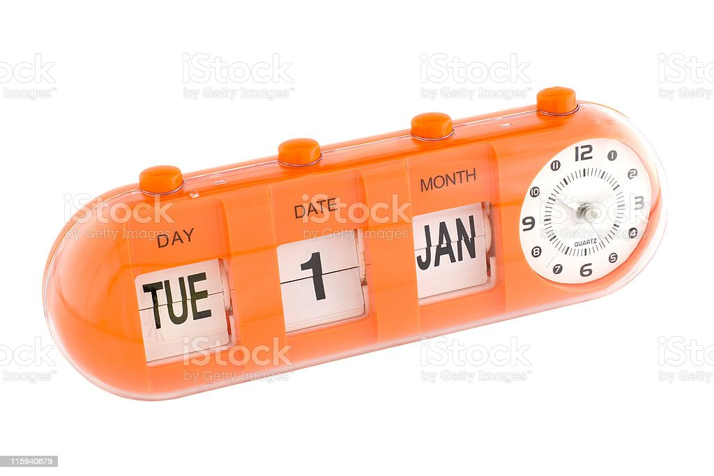Important date - New Year's Day royalty-free stock photo