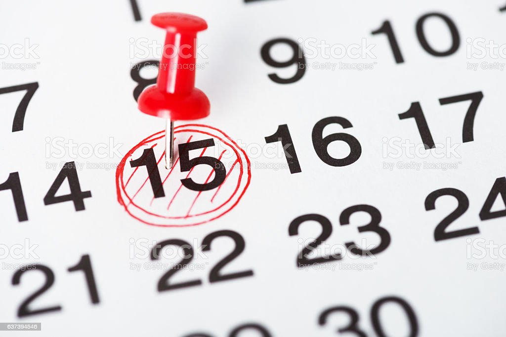 Important Day stock photo