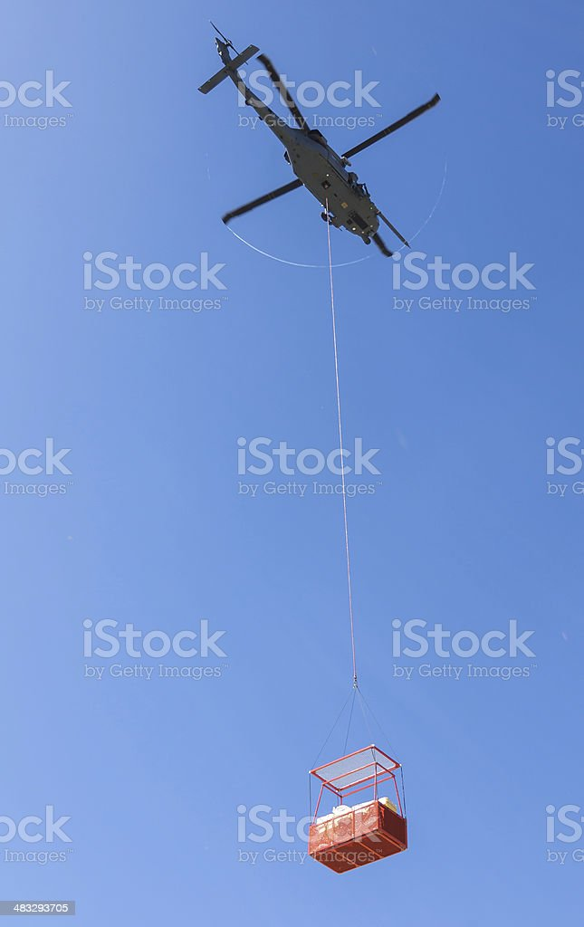 Important delivery stock photo