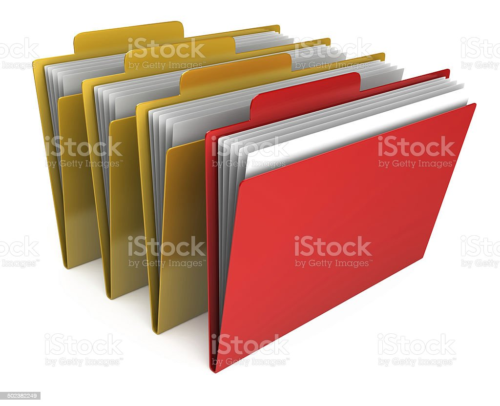 Important file royalty-free stock photo