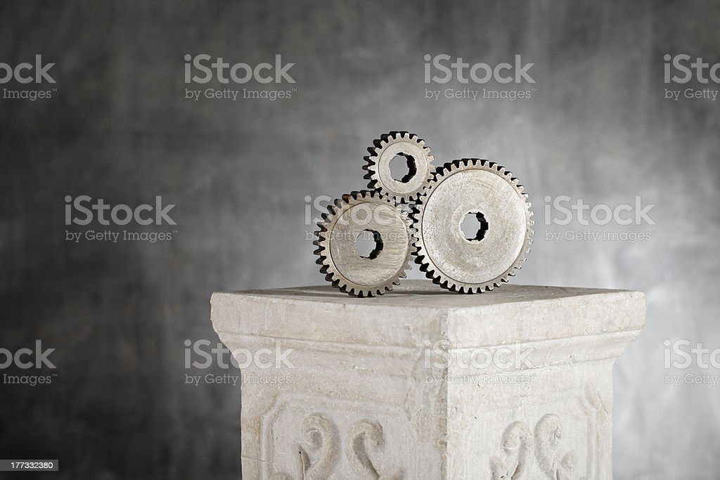 Important Gears stock photo