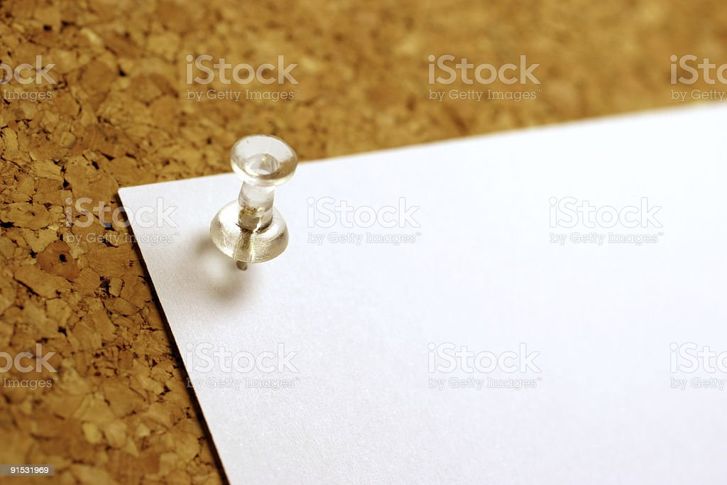 Important Note stock photo