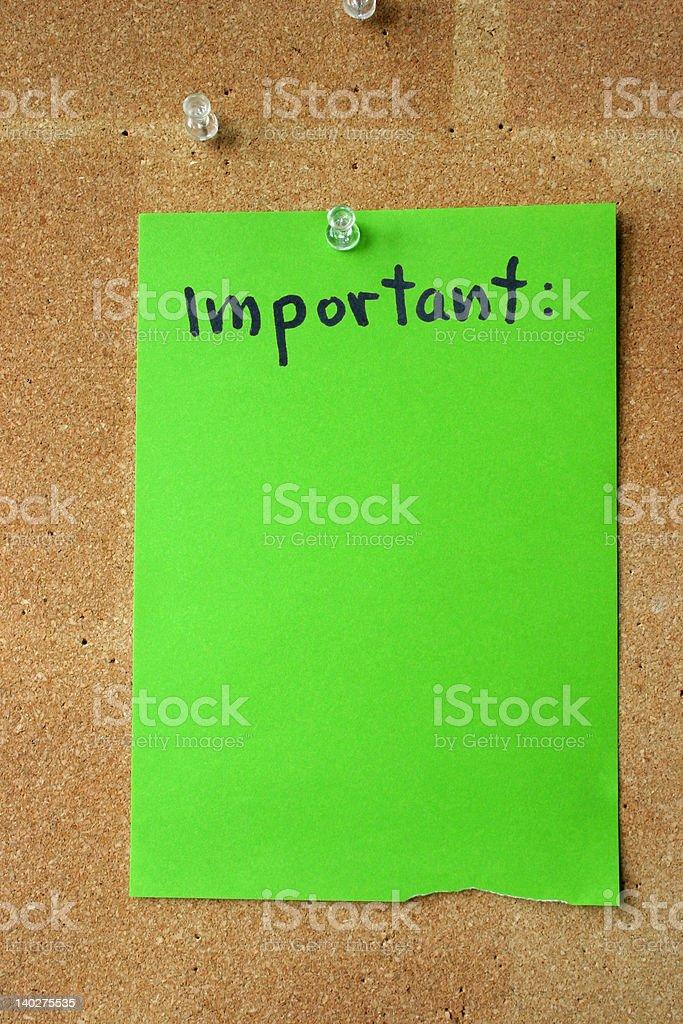 important stock photo
