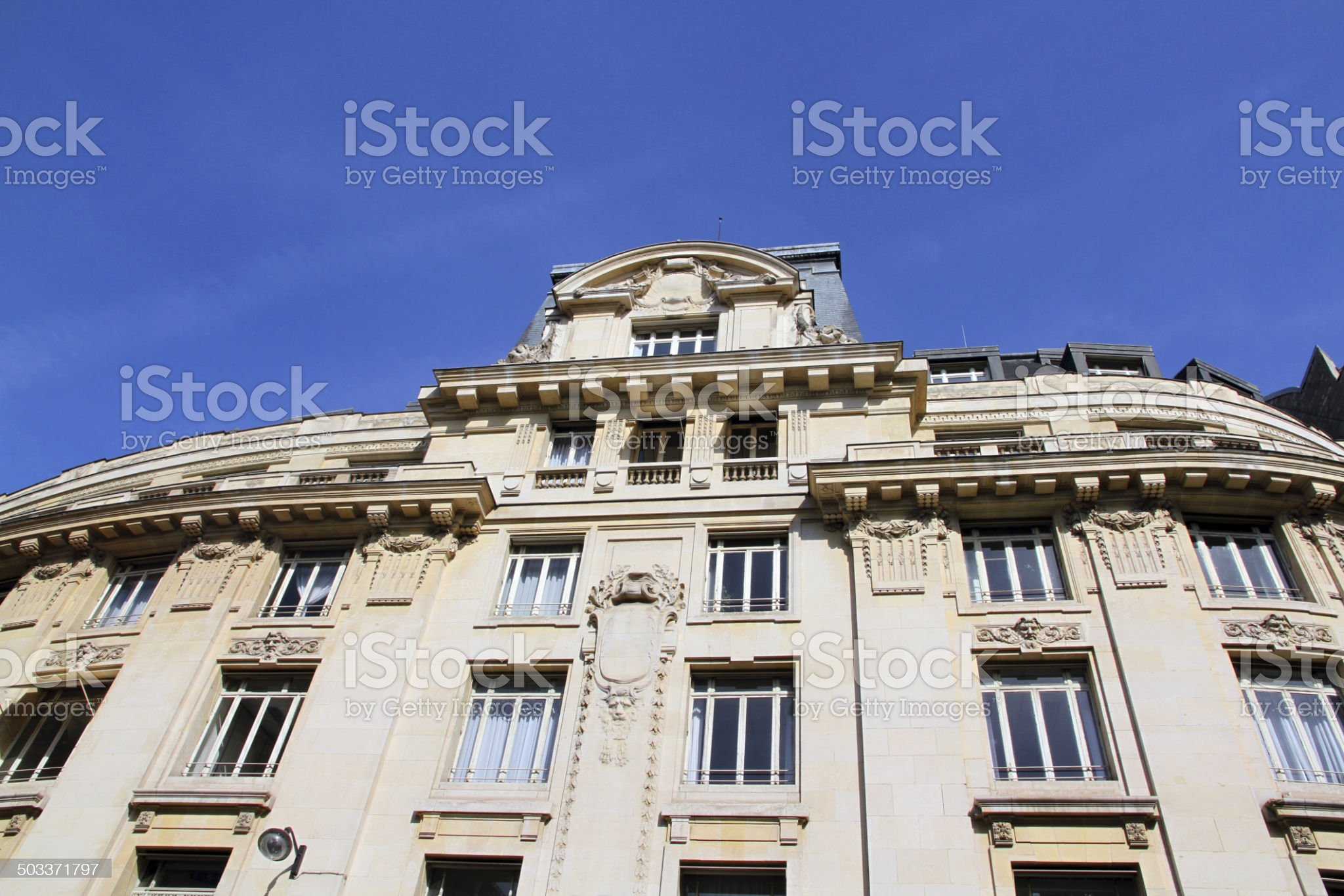 Imposing Building royalty-free stock photo