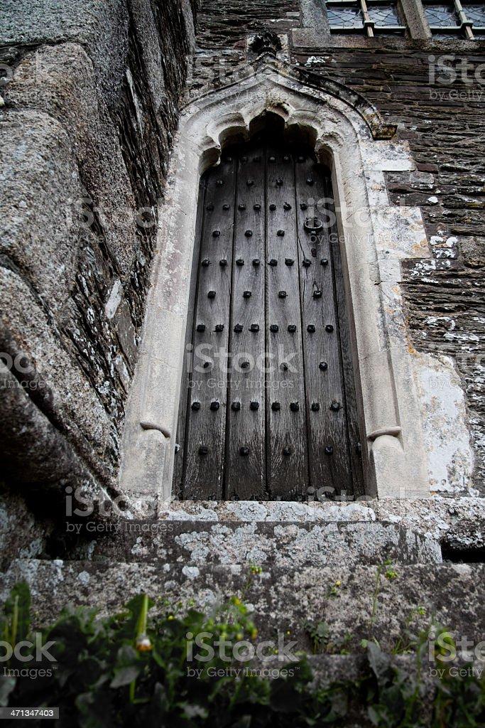 Imposing Door stock photo