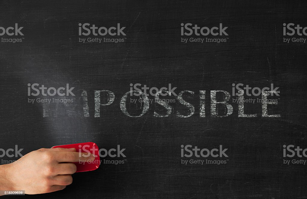Impossible stock photo