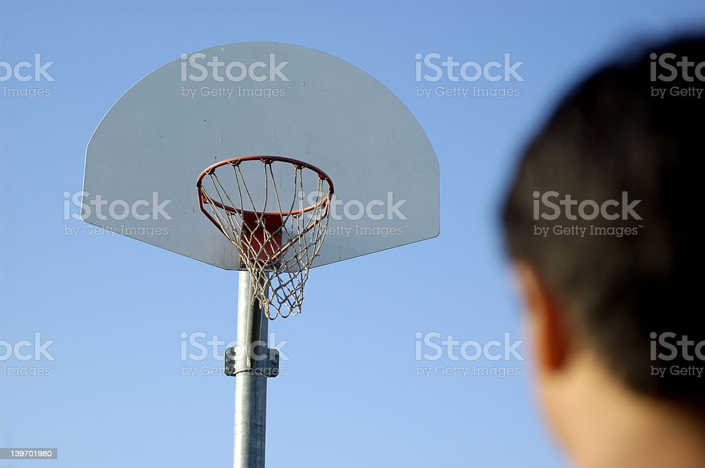 Impossible shot stock photo