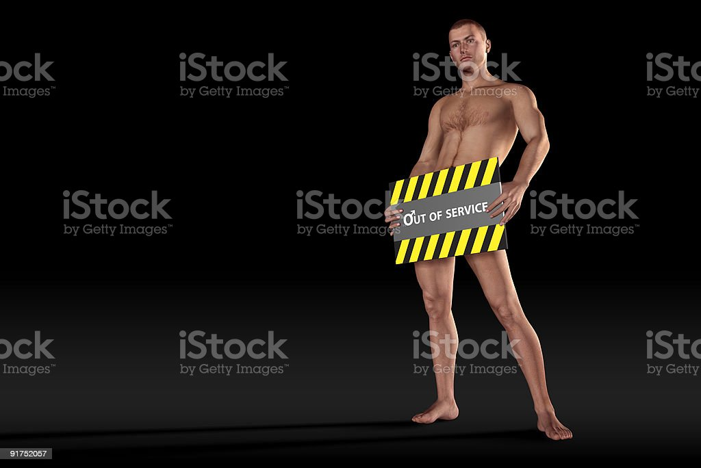 Impotence - Out of service royalty-free stock photo