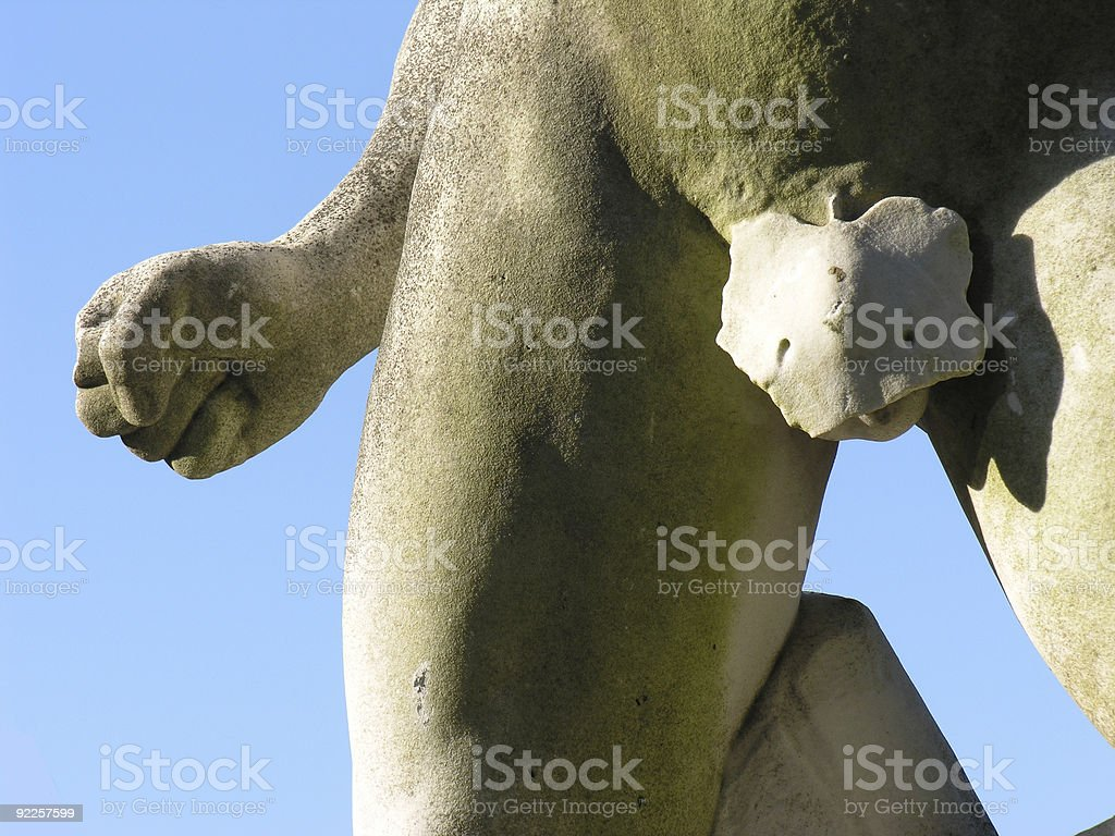 Impotent man concept royalty-free stock photo