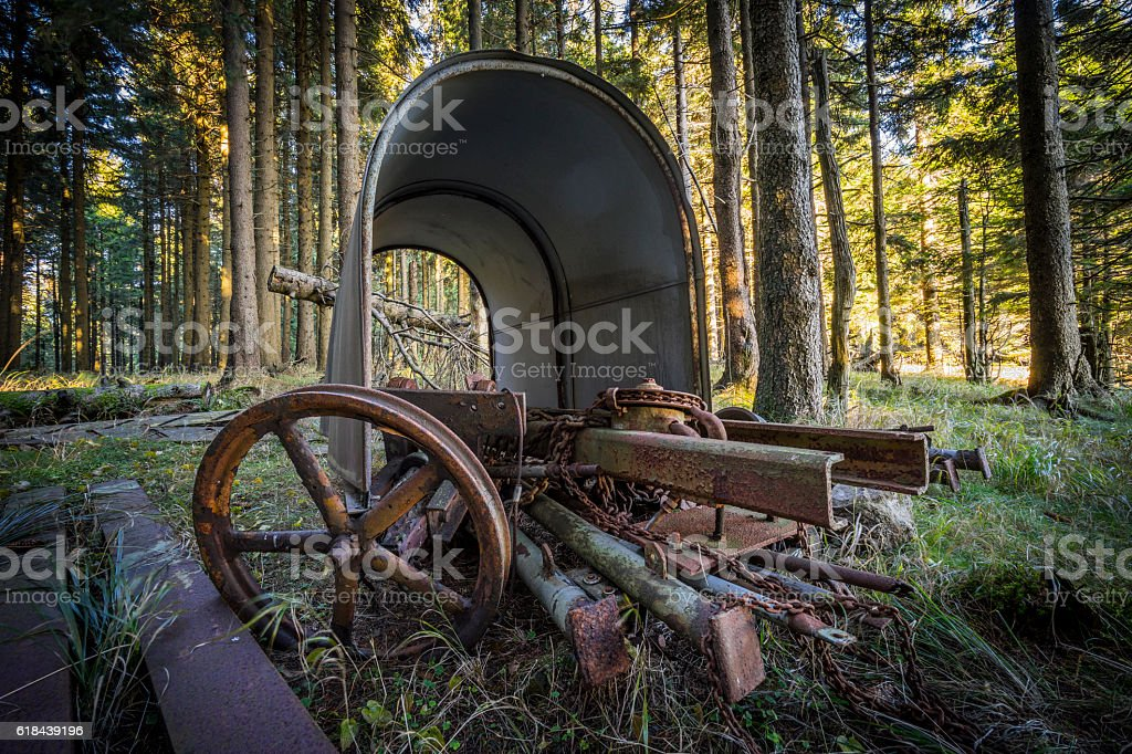 Impressions around the Brocken in the Harz Mountains stock photo
