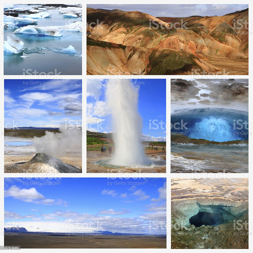 Impressions of Iceland royalty-free stock photo