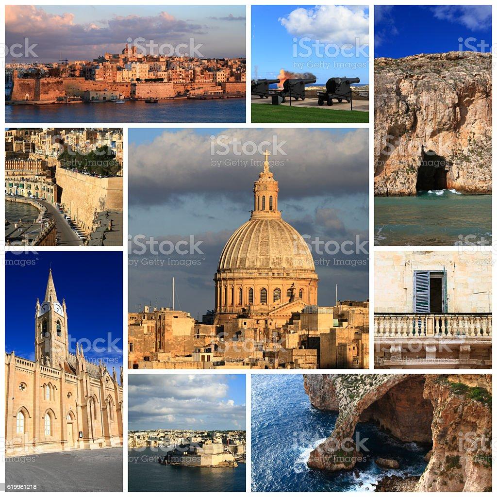 Impressions of Malta stock photo