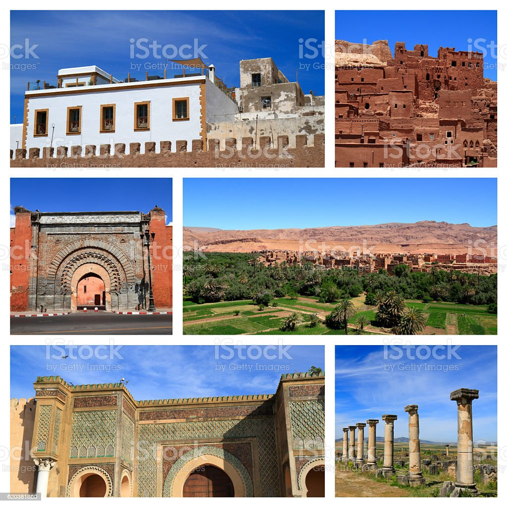 Impressions of Morocco stock photo