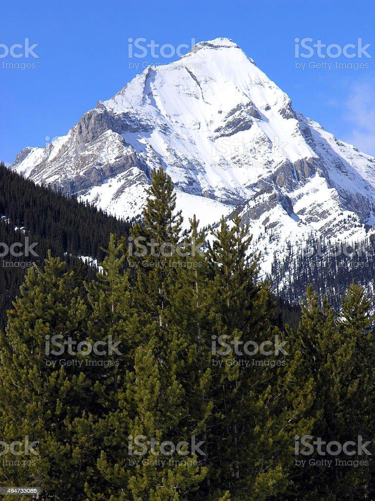 Impressive Mountain stock photo