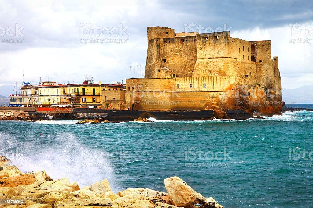 Impressive Naples,Italy. stock photo
