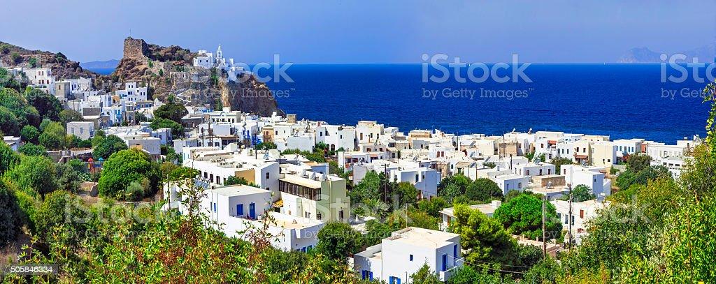 Impressive Nisyros,Greece. stock photo